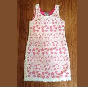 NWT**ELISA B.**White Floral Sequined Dress**Age 10